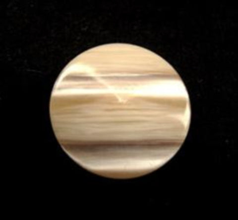 B11857 17mm Beige and Pealised Shimmery Shank Button - Ribbonmoon
