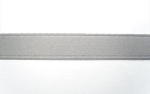 R1929 8mm Grey Single Faced Satin Ribbon by Offray - Ribbonmoon