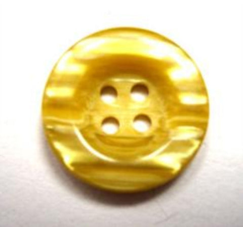 B15659 18mm Tonal Topaz Semi Pearlised 4 Hole Button - Ribbonmoon
