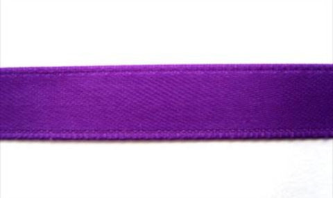 R5053 10mm Violet Double Face Satin Ribbon - Ribbonmoon
