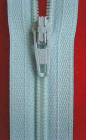 Z0235 YKK 51cm Aqua Nylon No.3 Closed End Zip - Ribbonmoon