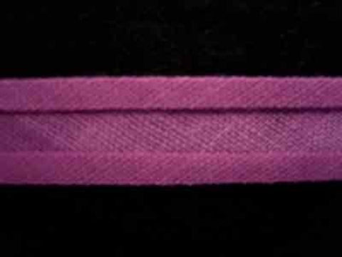 BB191 12mm Deep Amarinth Pink 100% Cotton Bias Binding - Ribbonmoon
