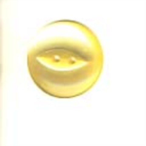 B16728 22mm Primrose Polyester Fish Eye 2 Hole Button - Ribbonmoon