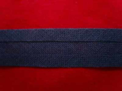 BB006 12mm Navy 100% Cotton Bias Binding - Ribbonmoon