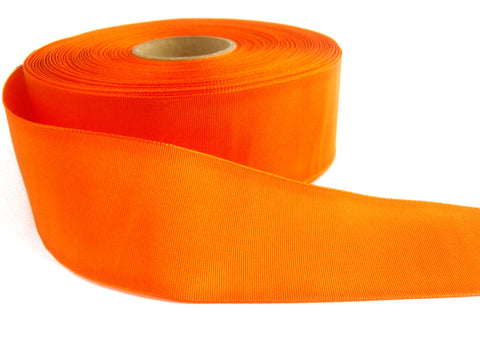 R6716C 40mm Orange Woven Polyester Taffeta Ribbon by Berisfords