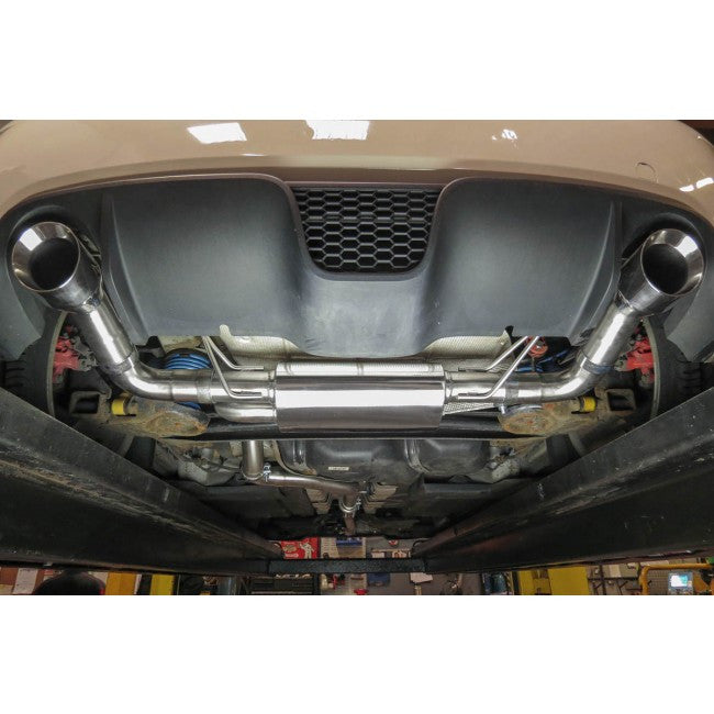 Fiat 500 Abarth Co Sport Cat Back Exhaust (Non-Resonated ...