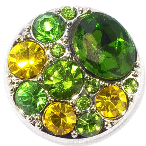 Green and Yellow Crystal Popper