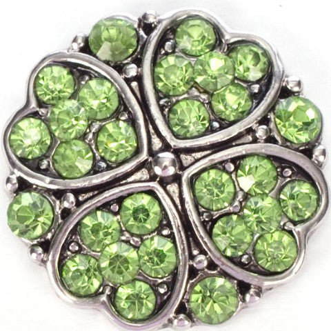 Green Hearts of Crystal Popper