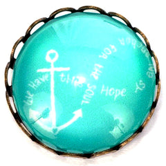 Anchor to the Soul Popper for Snap Jewelry