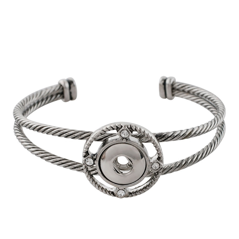 Compass Cuff Mini Bracelet - Gracie Roze