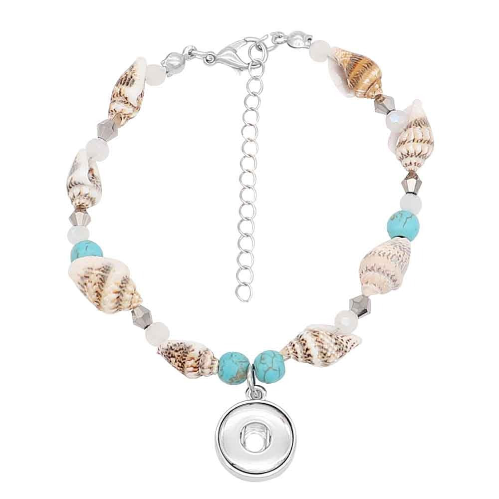 Seashell Adjustable Mini Bracelet - Gracie Roze