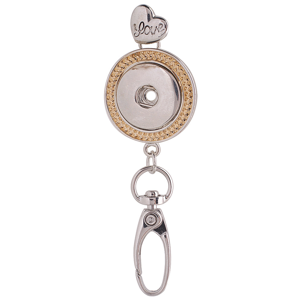 Gold and Silver Badge Holder