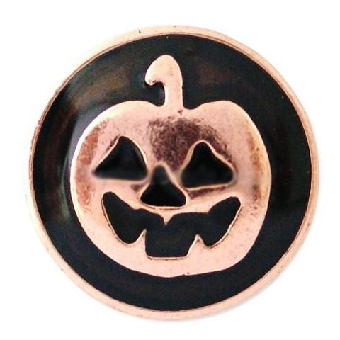 Black and Copper Pumpkin Popper
