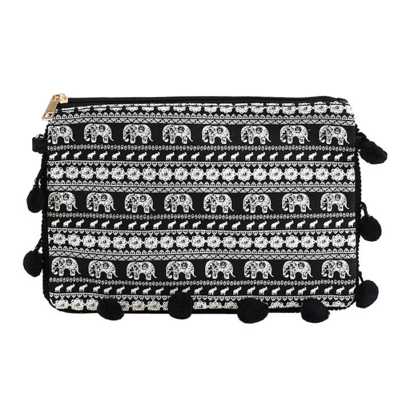 Elephant Crossbody Clutch - Gracie Roze