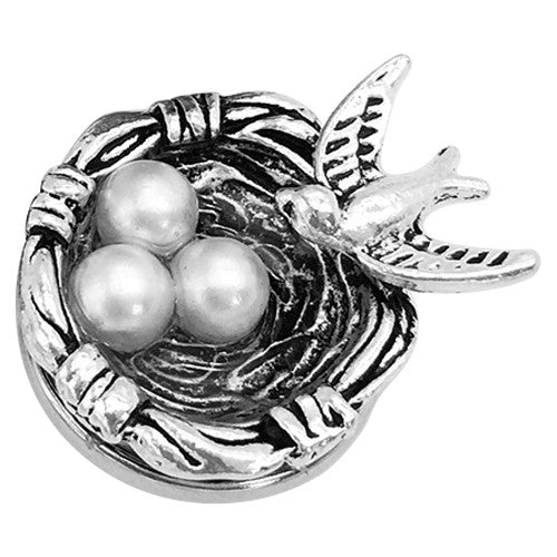 Bird's Family Nest Snap - Gracie Roze Yourself Expression Snap Jewelry
