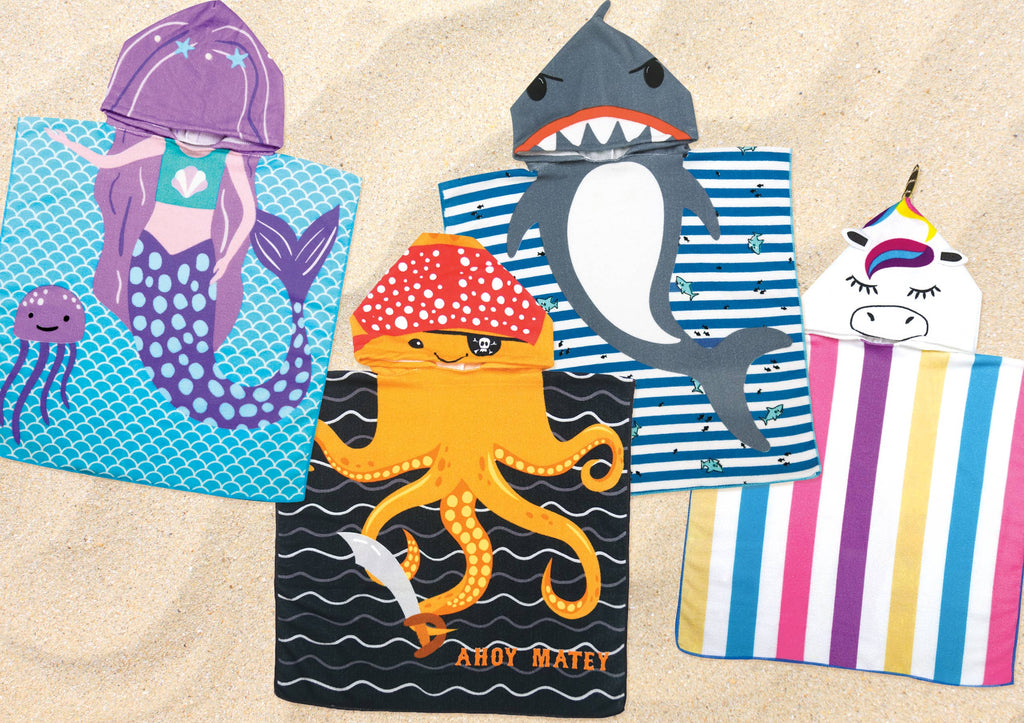 Fun in the Sun Hooded Towel - Gracie Roze