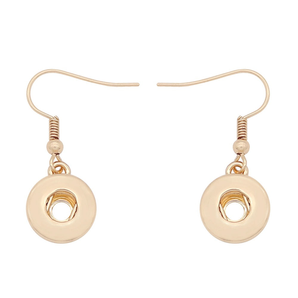 Gold Hanging Mini Earrings - Gracie Roze