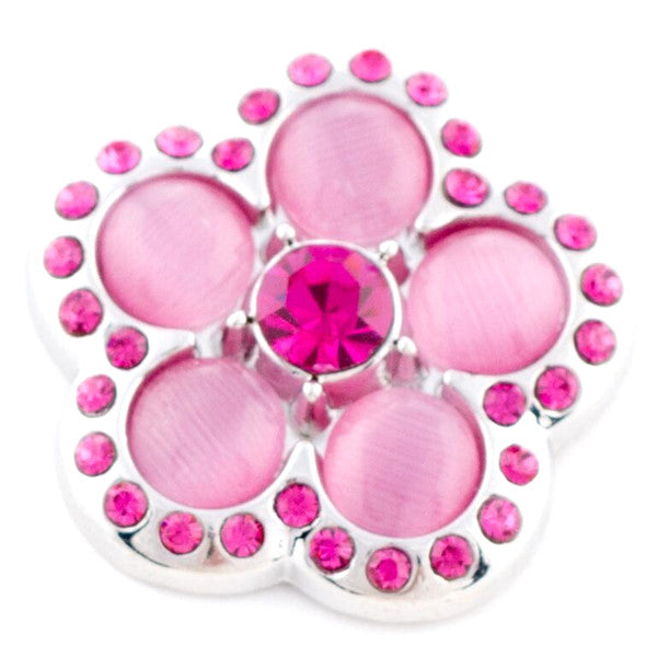 Groovy Bright Pink Flower Popper