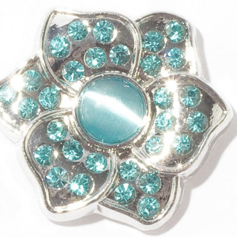 Teal Gem Flower Popper