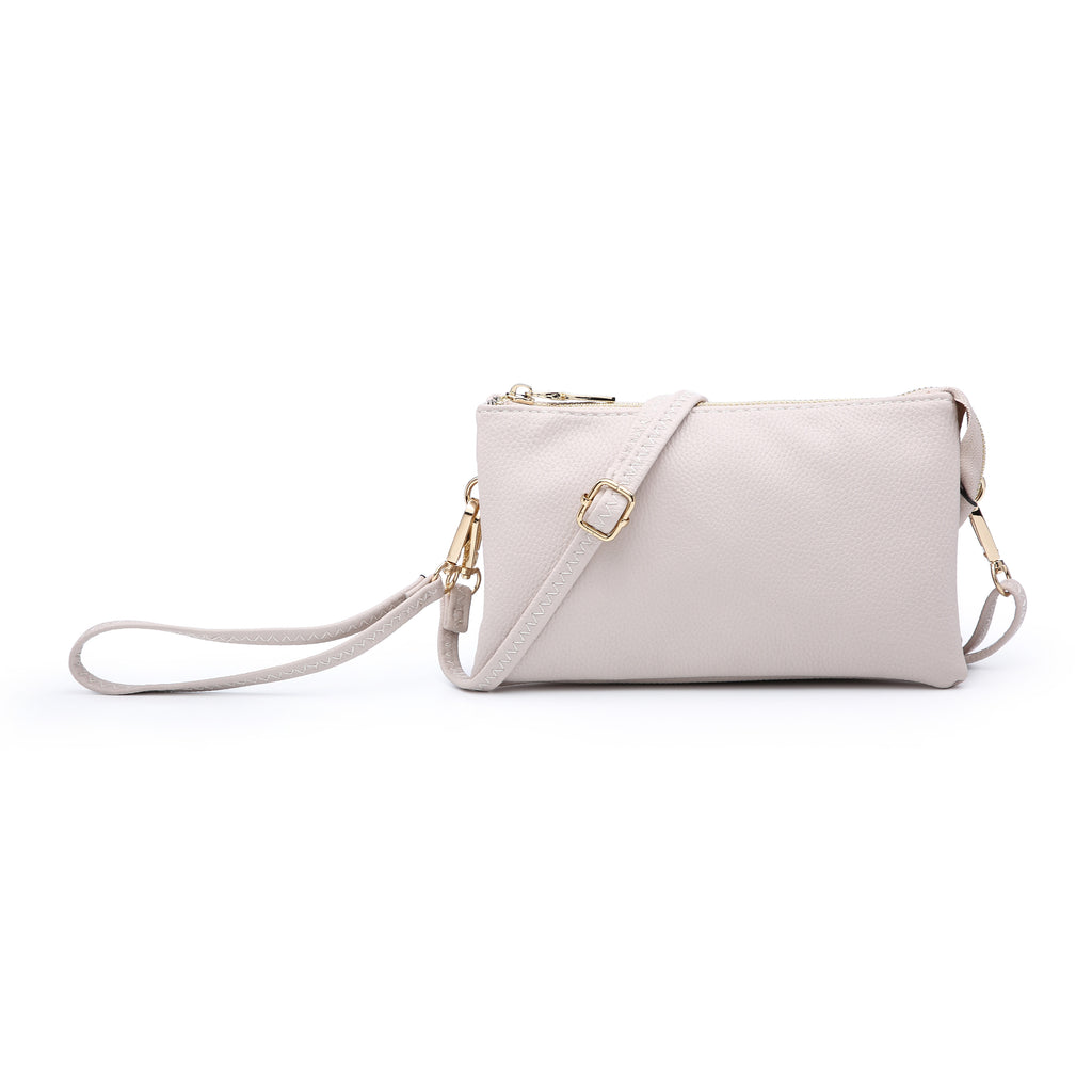 Jen & Co. Nude Clutch Crossbody - Gracie Roze