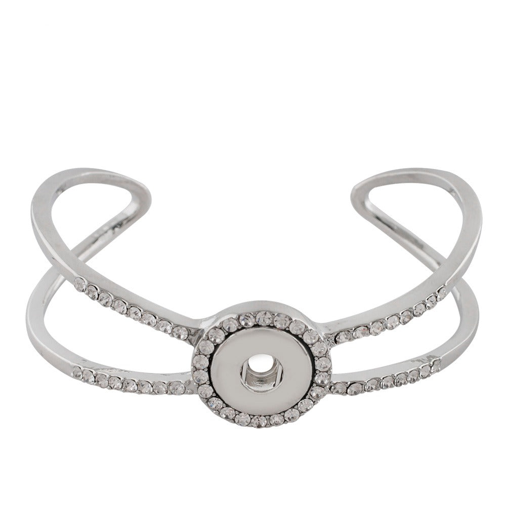 Crystal Wing Mini Cuff - Gracie Roze