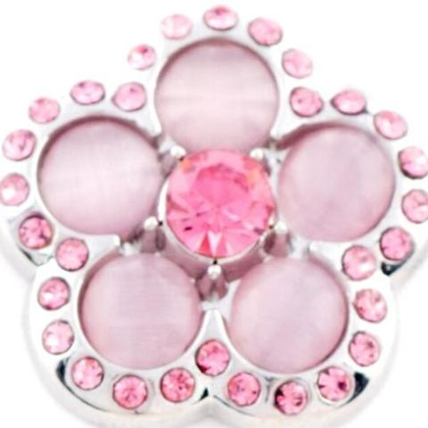 Groovy Light Pink Flower Popper