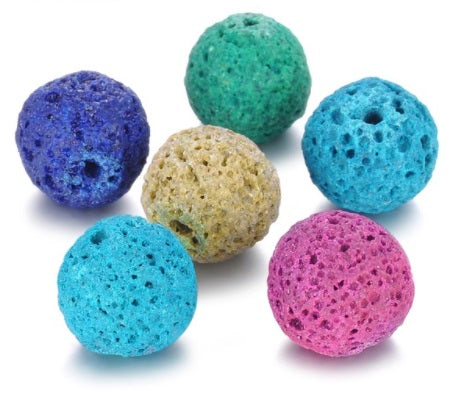 Essential Oil Lava Ball (Color Will Vary) for Angel Locket