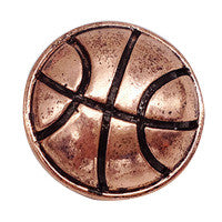 Basketball Metal Snap