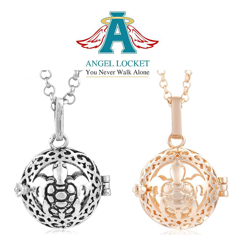 Sea Turtle Angel Locket