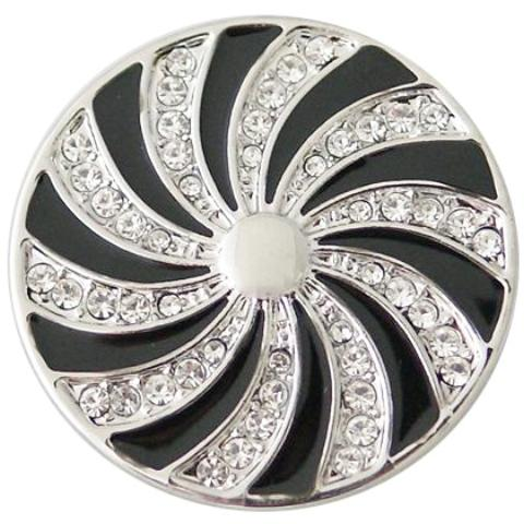 Silver and Black Coin - Gracie Roze