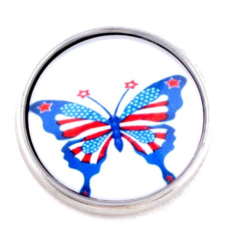 Patriotic Butterfly Snap