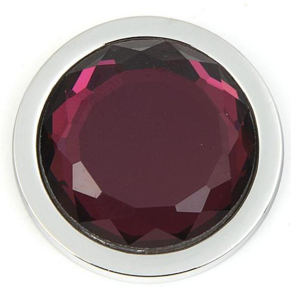 Purple Faceted Coin - Gracie Roze