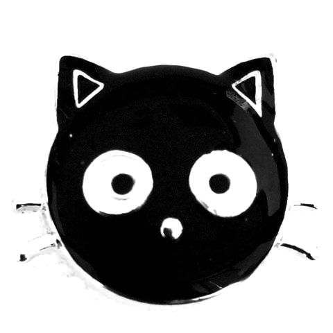 Black Cat Snap - Gracie Roze Yourself Expression Snap Jewelry