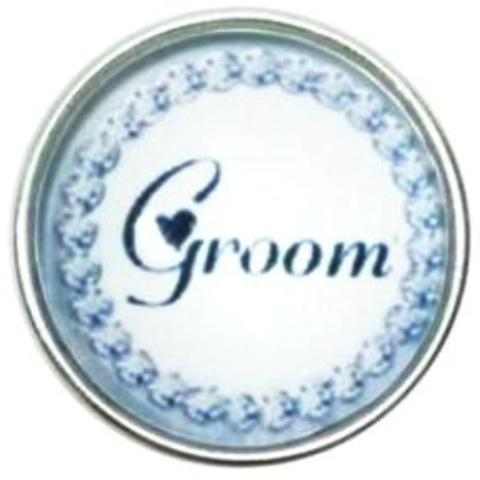 Classic Groom Snap - Gracie Roze Yourself Expression Snap Jewelry