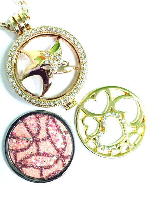 Starfish, Pink Modern, and Hearts Coin Set