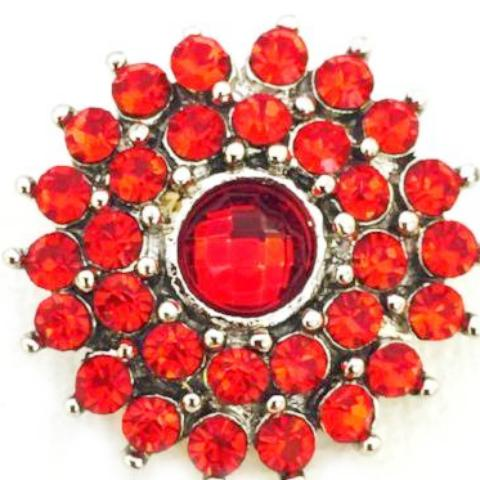 Red Crystal Sun Snap