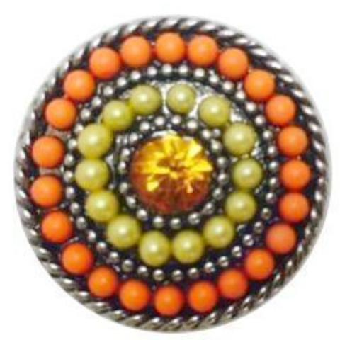 Citrus Bead Popper for Snap Jewelry
