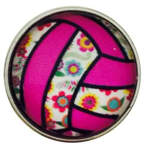 Floral Volleyball Snap