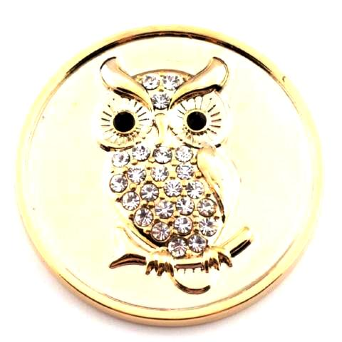 Gold Owl Coin - Gracie Roze