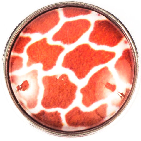 Giraffe Pattern Snap - Gracie Roze Yourself Expression Snap Jewelry