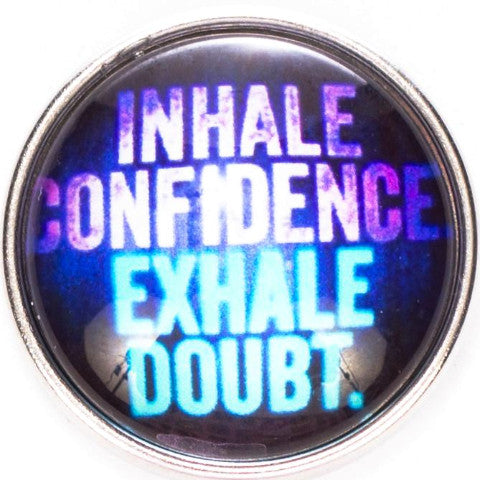 Inhale Confidence Snap - Gracie Roze Yourself Expression Snap Jewelry