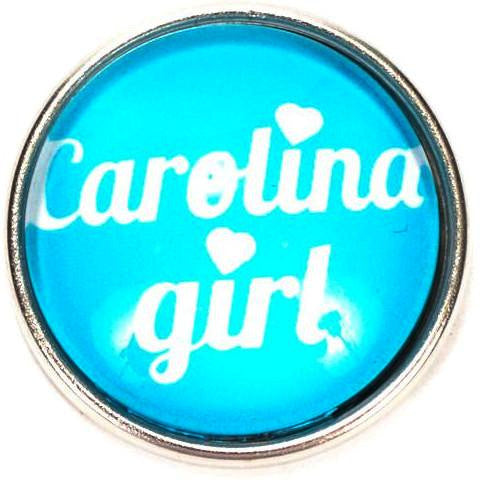 Carolina Girl Snap - Gracie Roze Yourself Expression Snap Jewelry