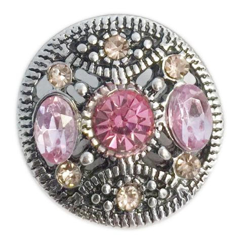 Bejeweled Pink and Yellow Snap