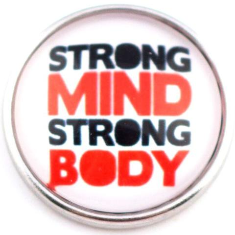 Strong Mind Strong Body Snap - Gracie Roze