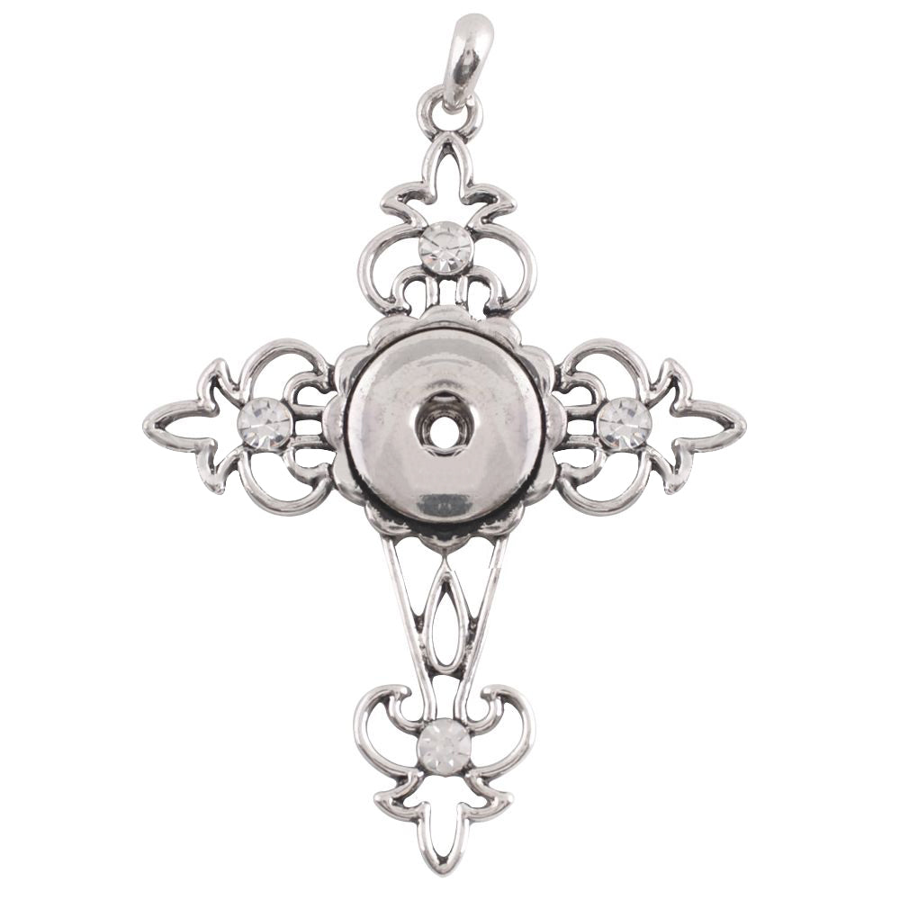 Mardi Cross Necklace - Gracie Roze