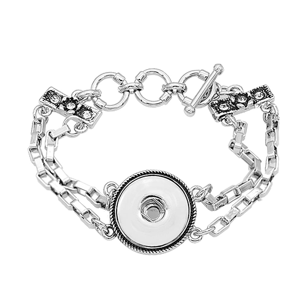 Linked Together Toggle Bracelet - Gracie Roze