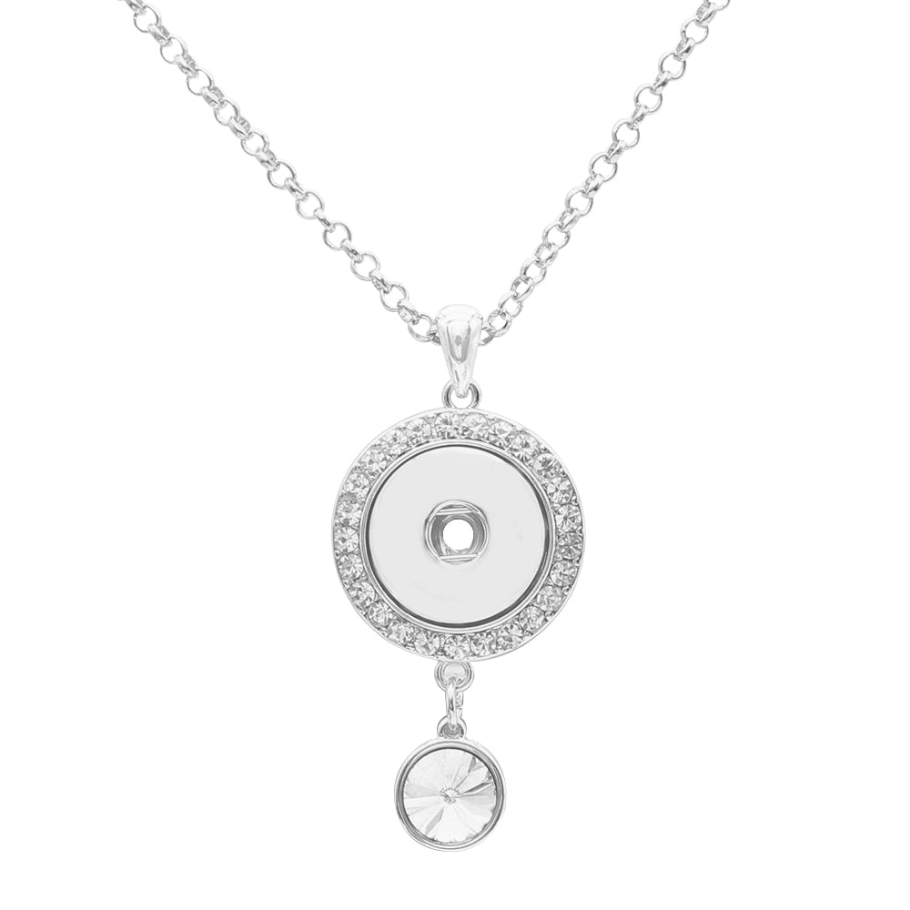 Crystal Single Drop Necklace - Gracie Roze