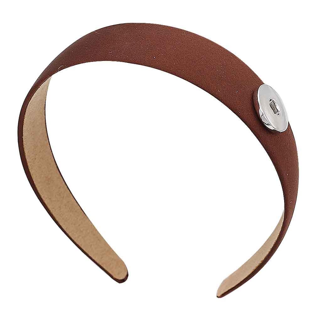 Coffee Snap Headband - Gracie Roze