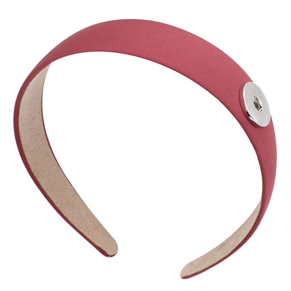 Red Snap Headband - Gracie Roze