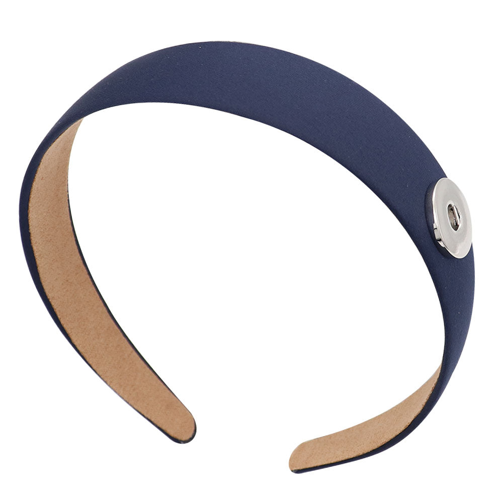 Blue Snap Headband - Gracie Roze